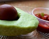 Avocado Soap - Holy Guacamole - Food Soap - Realistic Fake Food - Novelty - Mexican Food - Vegan Soap - Cinco De Mayo - Fake Food