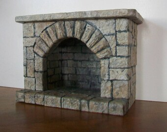 Miniature Fireplace   1:12 scale