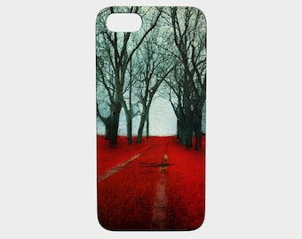 iPhone 7 iPhone5 Case Forest iphone5 case 5S iphone6 6S Woodland Cellphone Case Forest Device Canadian Sellers - The Crimson Forest