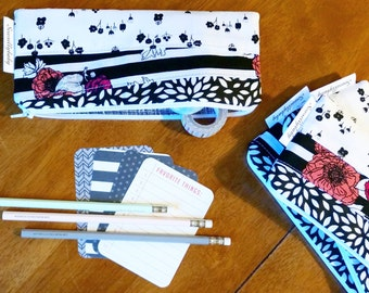 Scrappy pencil pouch - ready to ship