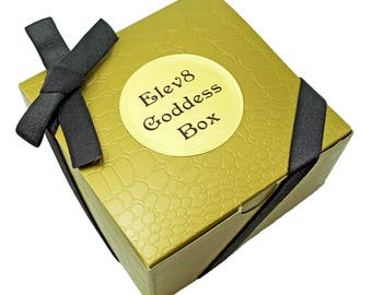 Elev8 Goddess BOX organic sensual skincare