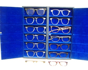 Vintage Lot of Mens Front Frames Eye Glasses Eyeglasses Sunglasses Frame