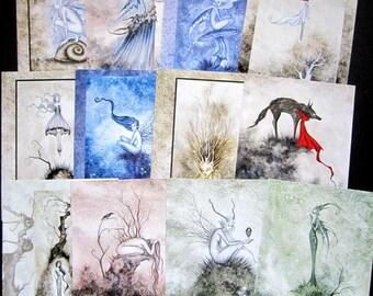 MYSTERY PRINT - The Dark Woods Grab Bag 8.5x11 prints