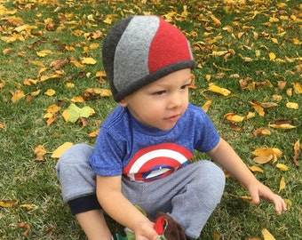 Upcycled Spiral Beanie - PDF INSTANT DOWNLOAD - 6-12 mo, Toddler, Child 3-10, Youth, Adult Large, Adult XLarge