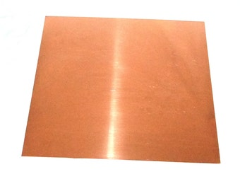 Copper Sheet 16ga 12 in. x 12 in. 1.30mm Thick