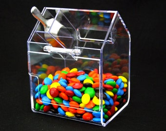 Large Candy Bin With Scoop