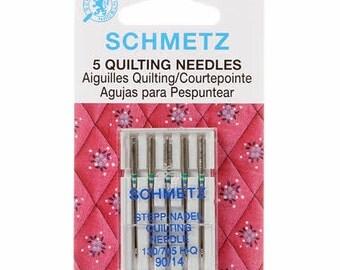 Schmetz Quilting Machine Needles 14/90 Package of 5