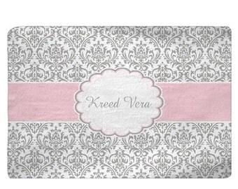 pink black gray rug etsy. Black Bedroom Furniture Sets. Home Design Ideas