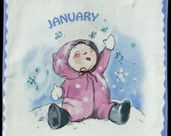Calendar babies quiet/soft book