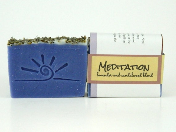 Sandalwood Lavender Soap- MEDITATION.