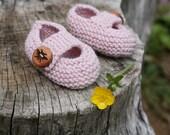 Sweet Bee Buttons- Handmade Wooden Buttons- Eco Knitting Supplies, Eco Craft Supplies