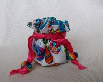 Jewelry Bag - Mini Size - Pouch for Jewelry - Drawstring Travel Tote - FLIPPING OUT