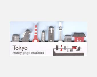 Tokyo Sticky Page Markers