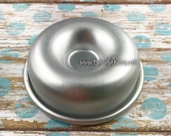 MINI DONUT Bath Bomb Mold, Metal, 2 5/16""