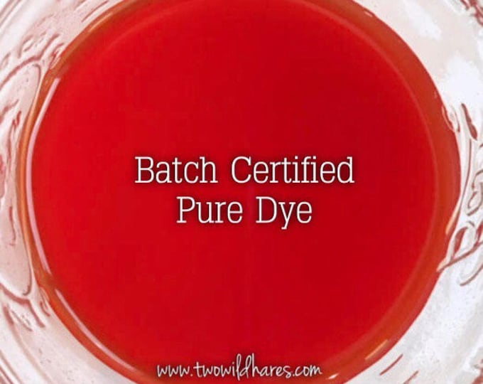 BLOOD ORANGE Batch Certified Water Soluble FD&C Red 40, 94% Pure Dye, Cosmetic Colorant, 1 oz