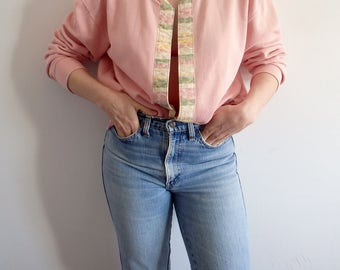 Sweater Vintage Pink Cardigan