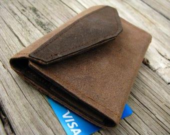 Minimalist Wallet/ Eco-friendly Wallet/ Ultra Suede/