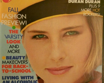 Young Miss magazine 1980s fashion eighties new wave Duran Duran Madonna Bruce Springsteen