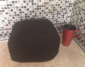 Black 2 Slice Toaster Cover Ready To Ship