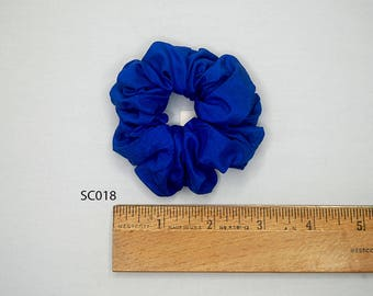 Silk Hair Scrunchies Ponytail Holder Elastic Ties Hair Band Many colors to Choose