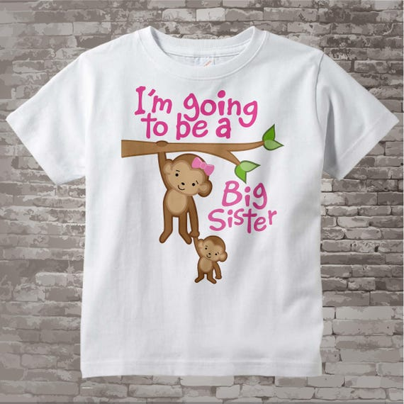 I'm Going to Be A Big Sister Tee Shirt Big Sister Onesie