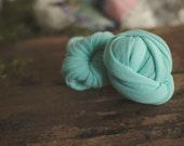Newborn Wrap - Baby Wrap - Stretch knit wrap - Photography Prop -  Alpine Mint - Wrap