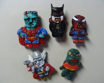 Super-Monsters  Magnet  Set A (Full-body/Cutie Style)