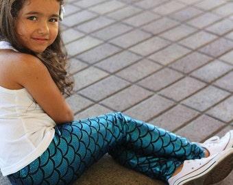 Mermaid Leggings for Girls Disney Princess Little Mermaid for little girls Leggings Christmas gifts for girls