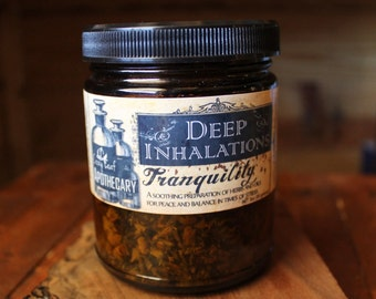 Deep Inhalations by the Cozy Leaf Apothecary  choose from 4 ~ Tranquility ~ Respiratory ~ Vitality ~ Immunity