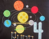 Solar System Birthday Shirts Custom Listing