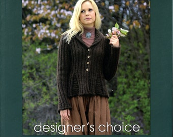 Elsebeth Lavold Designer's Choice Knitting Pattern Book 23 The Come Closer Collection - 21 Designs for Men, Women & Children