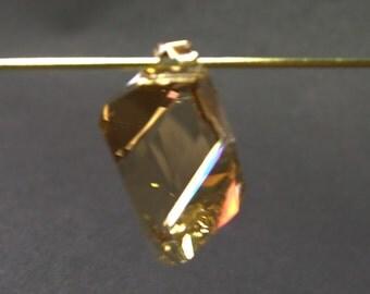 Vintage Swarovski Crystal - Twist Cut Focal/Pendant