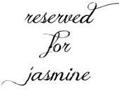 wedding programs for Jasmine
