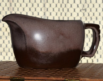Frankoma Gravy Boat - Plainsman Brown - Large