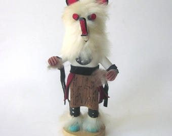 Kachina Doll Native American Handmade Figurine Wood Sculpture
