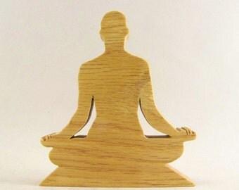 Lotus Yoga Pose Figurine - Padmasana