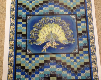 Pretty as a Peacock Quilt Kit