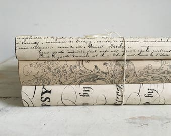 French vintage book bundle
