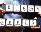 Kitchen and Office Periodic table signs combo