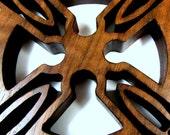 Celtic Cross / MID SIZE / Walnut Wood