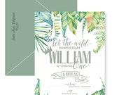 Custom Listing: Wild Things Printed Invitations for Rachael