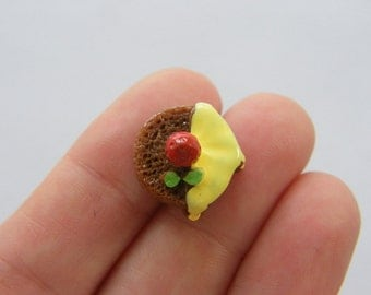 BULK 50 Christmas pudding resin cabochons FD307 - SALE 50% OFF
