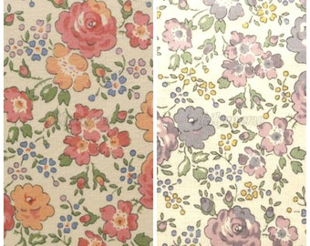 2 pcs of Liberty fabrics printed in Japan - Felicite