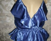 Vintage Satin Teddy By Victorias Secret