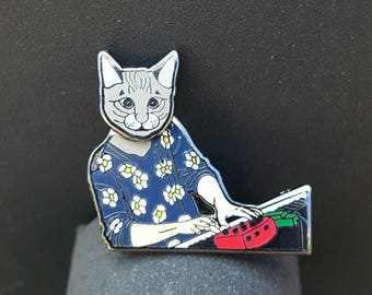String Cheese Incident Kyle the cat bobble pin