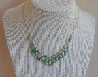 China Jade Delicate Statement Necklace