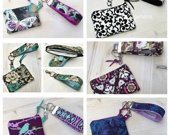 Coin Purse with Wristlet - Choose Any Fabric in My Shop