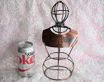 JEAN PAUL GAULTIER Mannequin Dress Form Metal Store Display Parfum Advertising Factice Perfume Dummy French Wire Corset France Figural Lady