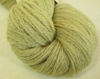 Plant-Dyed Wool Yarn - Tonal Fingering Weight Yarn - Natural Dye - Tansy - YAF111603 - 100 grams