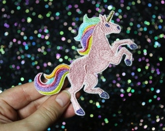Unicorn Brooch, Fantasy Pin, Badge